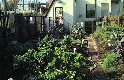 City Farmer compost garden in Vancouver, British Columbia