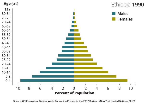 demographics ethiopia