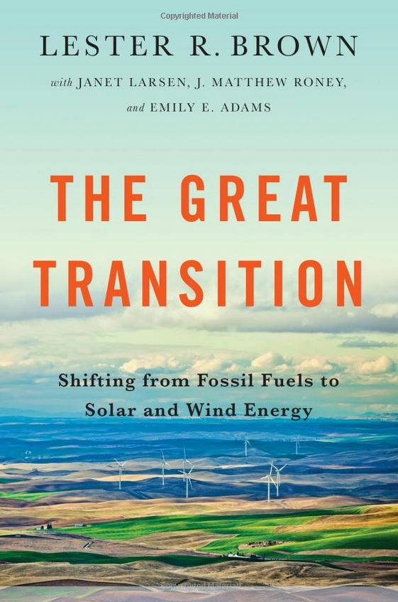 Book cover - The Great Transition