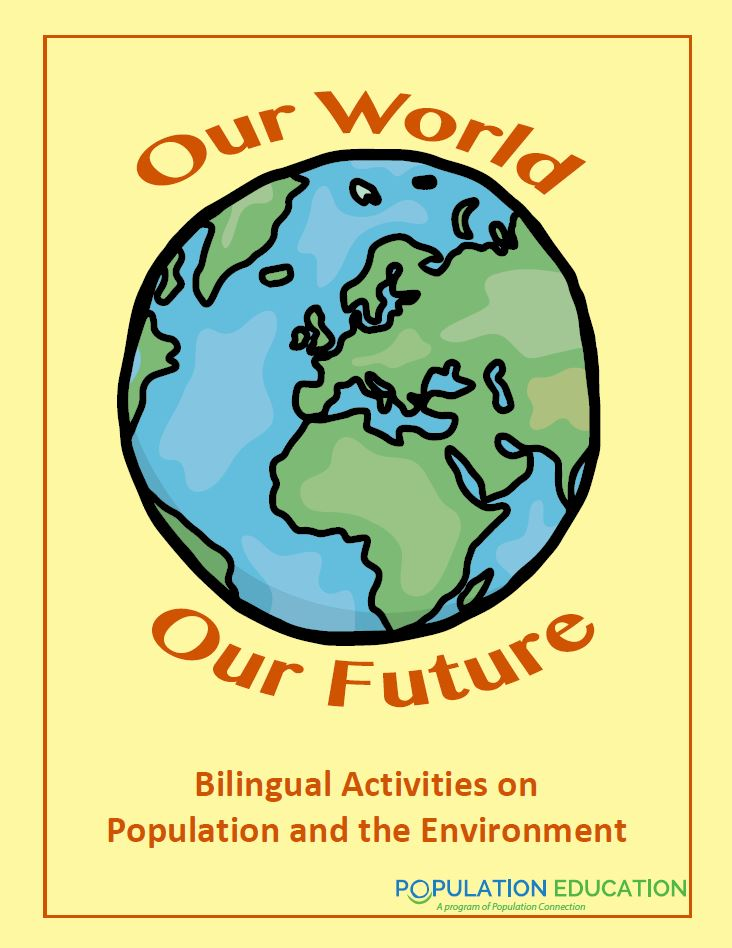 Cover photo of Bilingual Activity Pack, Our World Our Future
