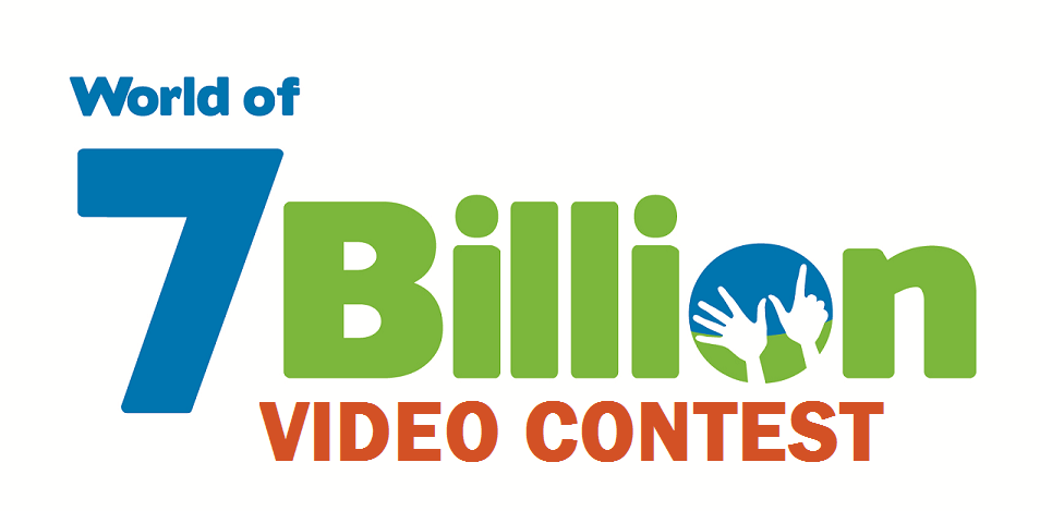 World of 7 Billion video contest logo