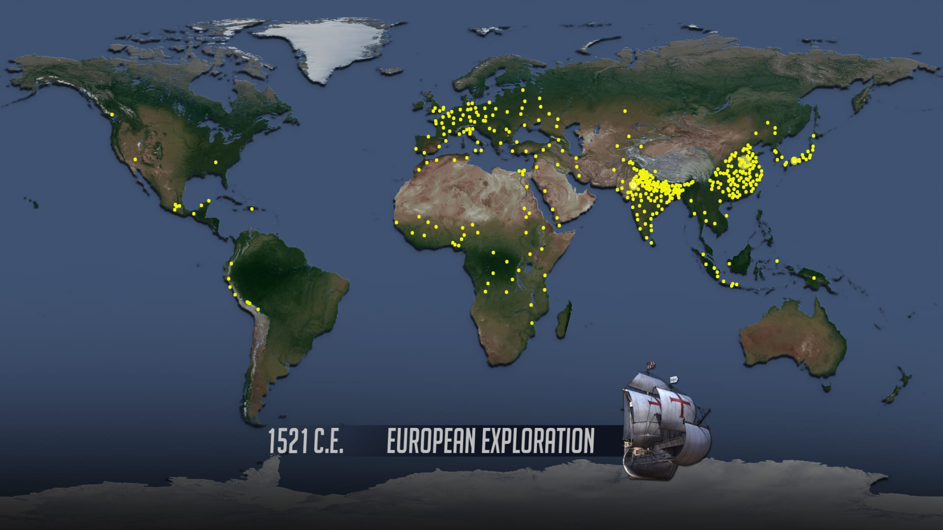 """World Population"" video screen shot of 1521"