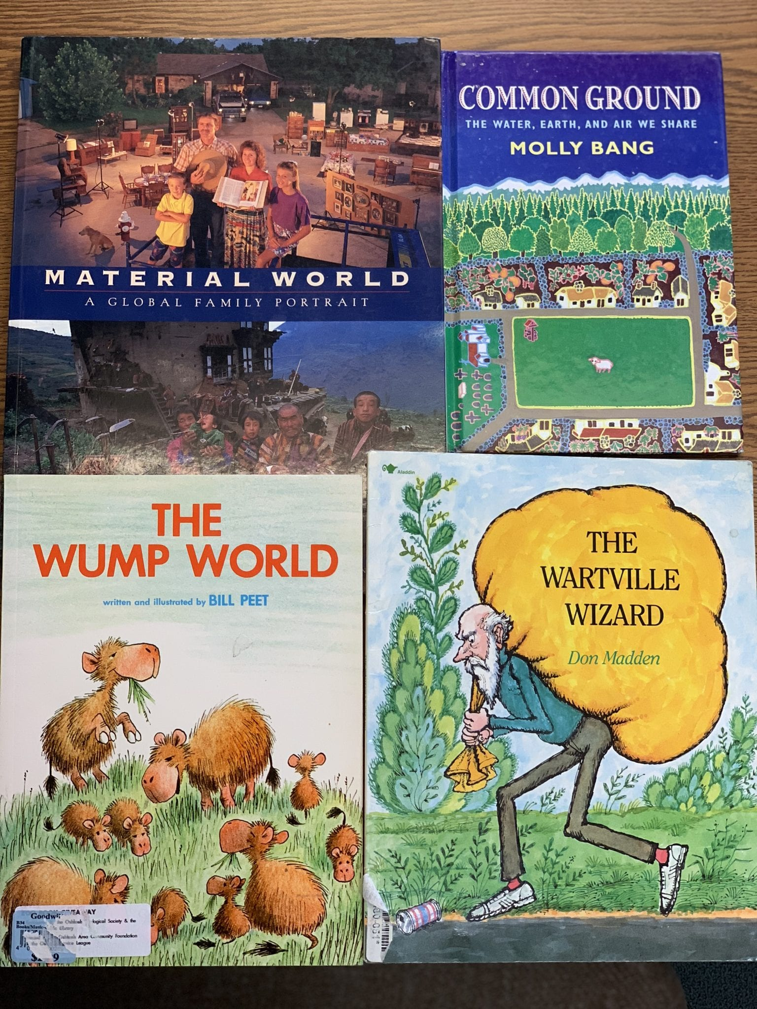 Children's books about how we use and consume resources