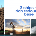 """Screenshot of video lesson plan """"Chips of Trade"""" showing comparison of chips to resource abundance"""