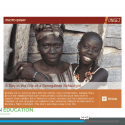 """Screenshot of video lesson plan """"Lesson for Life"""" showing a day in the life of a Senegalese schoolgirl"""