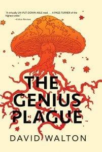 The Genius Plague by David Walton - book cover