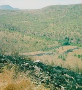 Area around Mushtikovila in December 1999