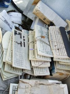 Discarded keyboards add to global e-waste crisis