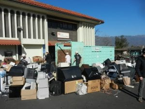 E-waste collection event works to combat electronic waste ending up in landfills