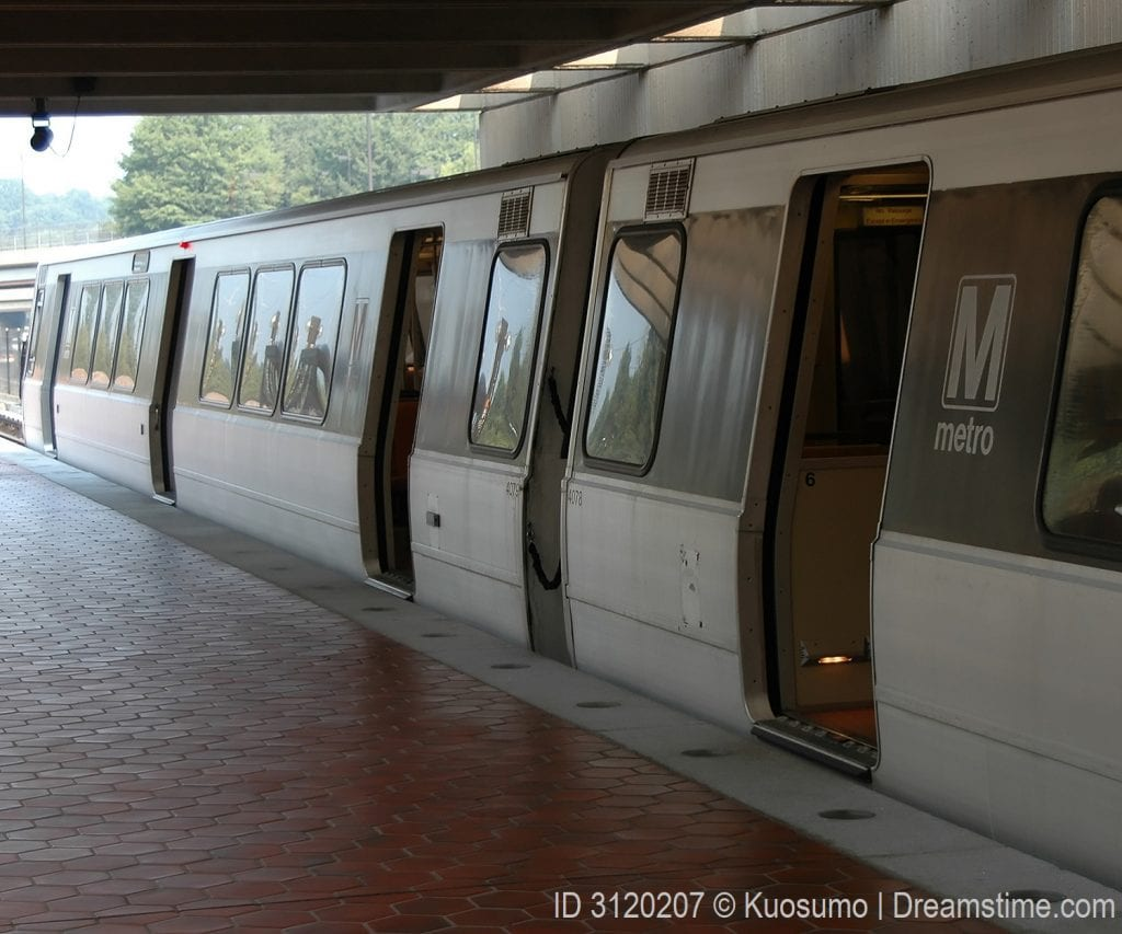 Public transportation in Washington, DC includes the metro