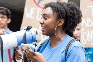Youth activist speaks at Zero Hour climate march in Pittsburgh
