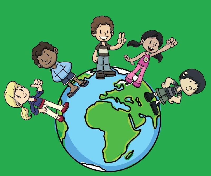 Unit for elementary grades covers how we count populations of humans locally and globally