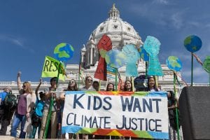 Minnesota March for Science - Kids Want Climate Justice