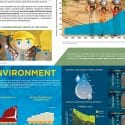 Poster thumbnail showing infographics of environmental and social issues in the modern world