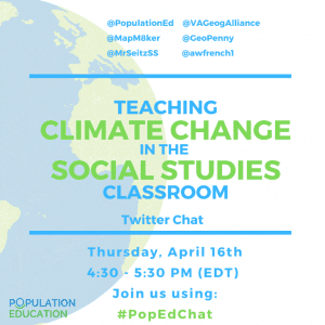Teaching Climate Change in the Social Studies Classroom Twitter Chat