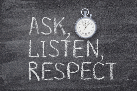 When discussing controversial topics, students must be respectful of each others' opinions