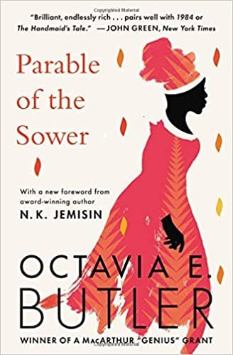 Parable of the Sower by Octavia E. Butler front cover