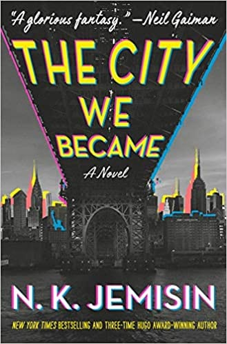 The City We Became by N.K. Jemisin front cover