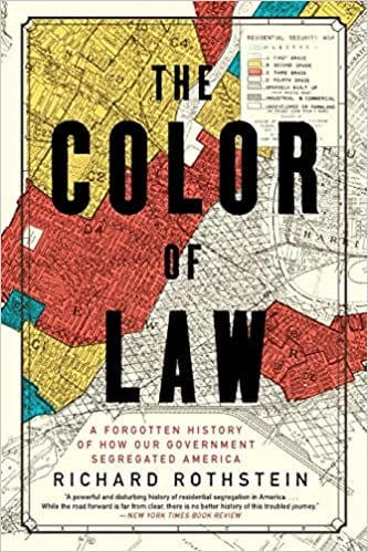 The Color of Law by Richard Rothstein front cover