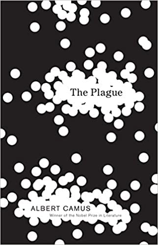 The Plague by Albert Camus front cover