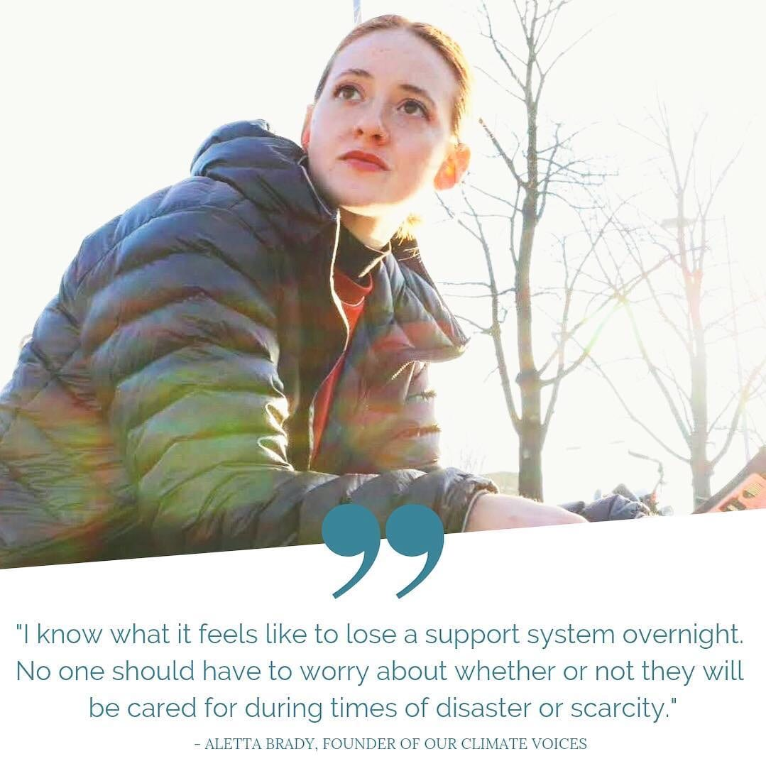 Image featuring founder of OCV, Aletta Brady.