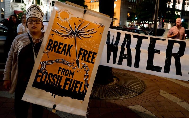 Protesting the DAPL pipeline