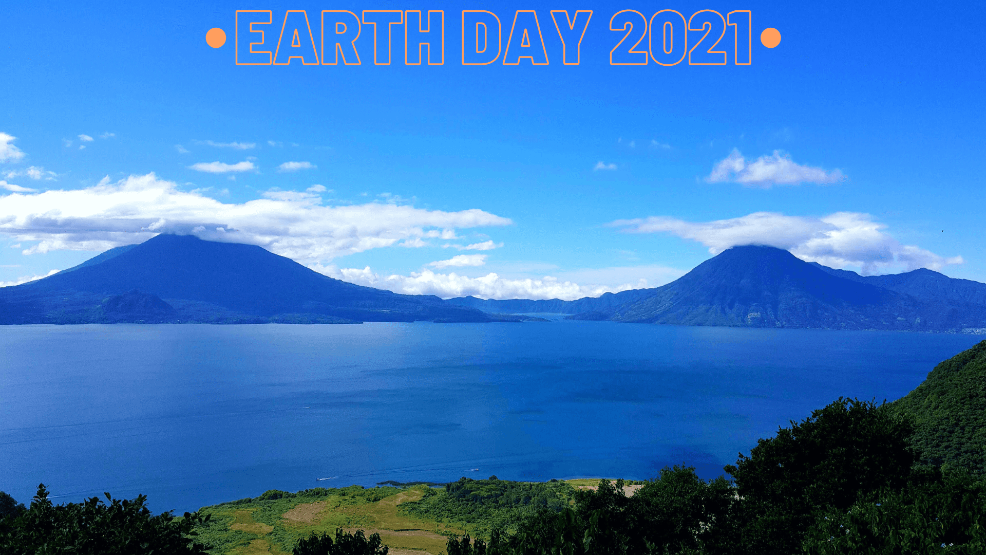 Zoom Teacher Background for Earth Day